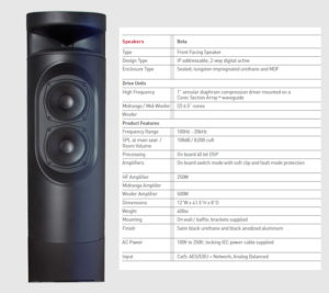 Grimani Systems Beta Speaker