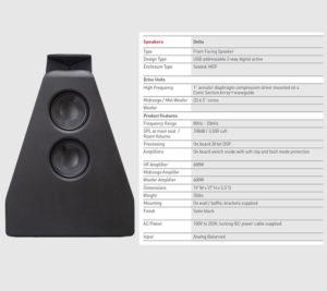 Grimani Systems Delta Speaker